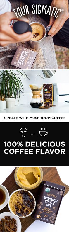 The energizing effects of coffee are well-known, but combining it with organic lion's mane mushroom and rhodiola root will take your coffee to the next level! Coffee is one of the most widely used foods with antioxidant properties, so we wanted to give people an easy upgrade for it. Thanks to our favorite functional mushrooms, now you can use coffee to support your productivity without putting strain on your body.
