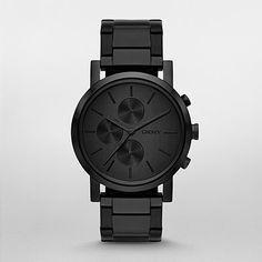 DKNY Watch, Lexington Mens Black Watch NY2163 | WatchStation®