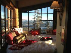 Панорамные окна: спальня