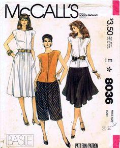 McCalls 1982 8036