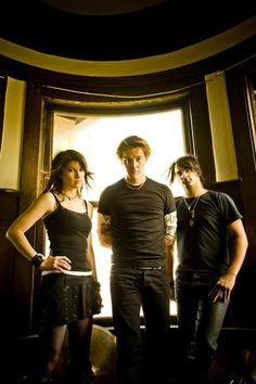 Sick Puppies - Haven't seen them but love their music.