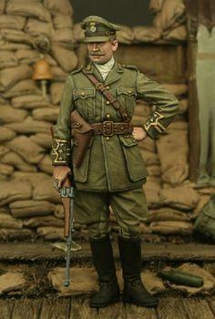 Captain, 2nd Bn Royal Welsh Fusilliers, Ploegsteert Wood 1915