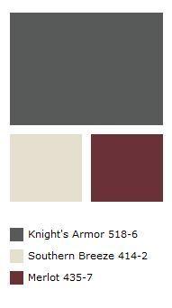 Ideas For Exterior House Colors Dark Trim Painted Bricks Exterior Paint Colors For House, Interior Paint Colors, Paint Colors For Home, Exterior Colors, Paint Colours, Interior Design, Exterior Gris, Ranch Exterior, Black Exterior