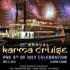 #Karma Cruise.For more event details.
