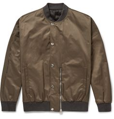 BALENCIAGA Satin Bomber Jacket. #balenciaga #cloth #coats and jackets