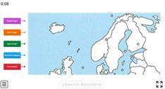 Északi-Európa - Földrajz 7-8. osztály TÉRKÉP FELADAT - Kalauzoló - Online tanulás Peanuts Comics