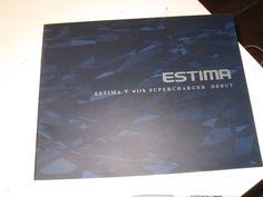 TOYOTA ESTIMA Japanese Brochure 1996/08 11W/10W  21W/20W 2TZ-FZE 2TZ-FE Canarado