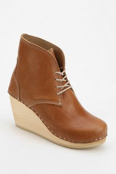 Maguba Casablanca Platform Wedge Ankle Boot