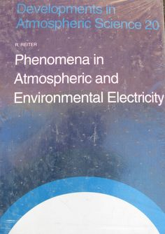 Phenomena in Atmospheric and Environmental Electricity R. Reiter englische Ausg. Environment, Chart, Science, Ebay, English, Science Comics