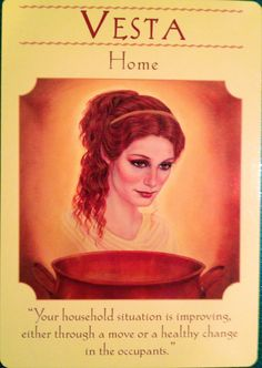 Goddess ~ Vesta: Home | Archangel Oracle ~ Divine Guidance