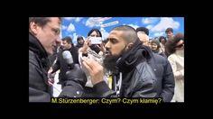 """żydoski aktywista (partia """"Die Freiheit"""" w Niemczech) usiłuje sprowokować Araba do nienawiści, natomiast  jest konfrontowany z inteligentną argumentacją i blamuje się tak samo, jak w Polsce żydoscy nacjonaliści, którzy robią za polskich prowokatorów antyżydoskich http://pkn.blox.pl/2016/11/Przypomina-mi-sie-sytuacja-z-tzw-ks-Isakowiczem.html"""