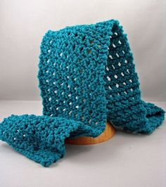 Easy Lace Scarf {easy} | Polar Knit via All Free Knitting (click thru for .pdf pattern)