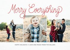 Send this lovely card on Postable. Add your info on the site and Postable prints, addresses and mails it out for you. No more licking! Holiday Cards, Christmas Cards, Holiday Ideas, Christmas Ideas, Holidays And Events, Happy Holidays, Picture Cards, Wonderful Time, Peace And Love