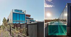 zwembad op het dak