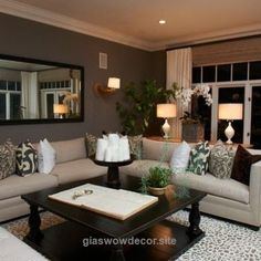 Adorable Living Room .