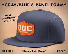 DDC-001 Factory Floor Issue Action Cap.  Standard Hat Co.