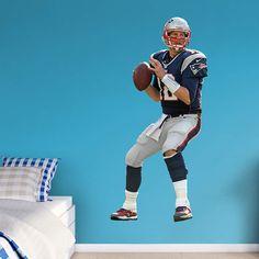 Fathead NFL New England Patriots Tom Brady Quarterback Wall Decal, Multi 6 Year Old Christmas Gifts, 6 Year Old Boy, Nfl New England Patriots, Tom Brady, Old Boys, Gifts For Boys, Best Gifts, Toms, Sports