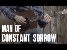 Man of Constant Sorrow | Guitar Lesson Tutorial - YouTube