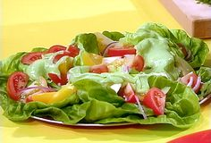 Mexican Salad- I made this tonight.  The avocado dressing is delicious and easy~ fresh