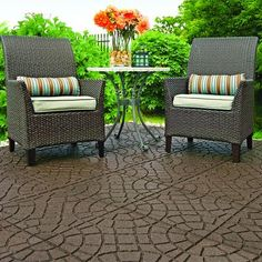 EnviroTile - 18x18 Inch EnviroTile Bella Rocca Earth - MT5000795 - Home Depot Canada $7.98   Transforms a boring outdoor space into an updated, classic look. Made from 100 per cent recycled rubber, its easy to resurface any floor in minutes!  All-season and weather-resistant Cleaning - Just rinse off with a garden hose Removable Lightweight and portable Noise and impact-absorbing