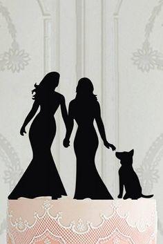 Super Cute Gay and Lesbian Wedding Ideas ★ lesbian wedding ideas lesbian wedding cake topper Wedding Trends, Wedding Designs, Wedding Ideas, Wedding Cupcakes, Wedding Cake Toppers, Our Wedding, Dream Wedding, Wedding Ring, Wedding Stuff