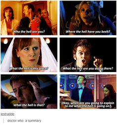 Most accurate explanation of Doctor Who EVER