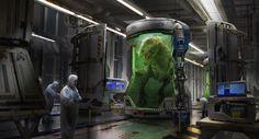 ArtStation - Genetics Lab, Eddie Mendoza