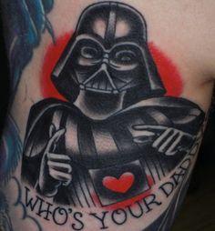 Funny Star Wars tattoo
