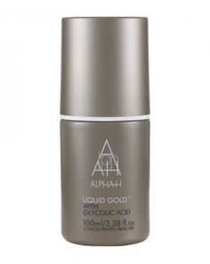 Alpha-H  Liquid Gold . Chemical Toner amazing use at night and only cleanse your face and they apply this and nothing else