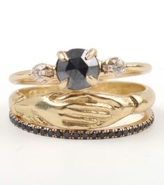 Catbird::shop by category::JEWELRY::Wedding & Engagement::Engagement Rings:: Odile the Swan