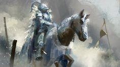 Conor Burke - the pale rider + feather cloak