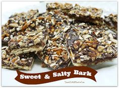 Sweet & Salty Bark