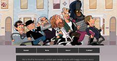 """Результат пошуку зображень за запитом """"menu illustration webdesign cartoon landing"""""""