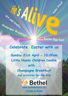 Bethel Church is a Small organic church in Colchester with a heart to serve the community of Colchester. Champagne Breakfast, Bethel Church, Egg Hunt, Easter Crafts, Easter Eggs, Children, Kids, Arts And Crafts, Sunday