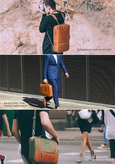 The 48Hr Switch | Backpack, Messenger, Briefcase in a Switch by Alex | T.Forevers — Kickstarter