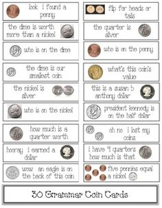 teaches about coins