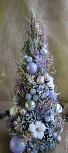 """Купить Новогодняя елка """"Лиловая мягкость"""" - сиреневый, новогодняя елка, елка новогодняя, елка"""