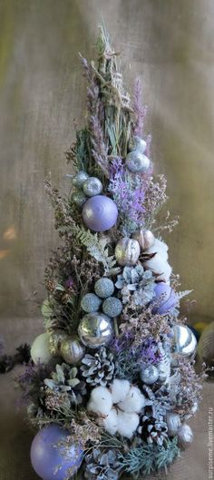 """Купить Новогодняя елка """"Лиловая мягкость"""" - сиреневый, новогодняя елка, елка…"""