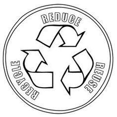 Reduce, Reuse, Recycle poster! Made using clip art from DJ