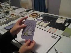 How to Make an Acetate Window card