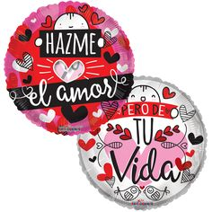 Contamos con variedad de Globos Metalizados de #Amor diferentes leyendas y estilos!!