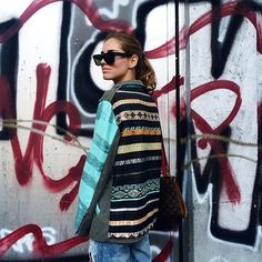 Finally a different outfit for @chiaraferragni #emmetrend #fashionista #boho #jacket #trend #style #louisvuitton #bag #rayban #streetlook #streetstyle #fashion #blogger #chiaraferragni #look