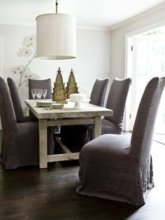 Contemporary Upholstered Dining Chairs Contemporary Design, Pictures, Remodel, Decor and Ideas - page 2