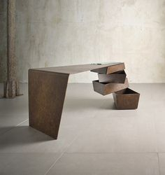 Torque Desk by Alessandro Isola and Supriya Mankad from I M Lab