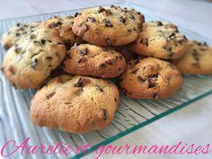 Cookies aux pépites de chocolat cœur au Nutella