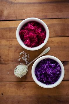 sauerkraut - need to get around to this with the winter cabbage