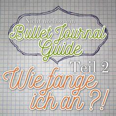 Gestern habe ich euch alles Erdenkliche über das System des Bullet Journalings erzählt und wie angekündigt geht es heute ans Eingemachte. Wir setzen unser eigenes Bullet Journal auf. Hier mein Step…