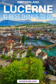 Find out about the 10 best things to do in Lucerne - from visiting the typical sightseeing places to explore some hidden gems. Here are my tips for places to visit in Lucerne (from a regular Switzerland visitor). I Best things to do in Lucerne I W Cool Places To Visit, Places To Travel, Travel Destinations, Places To Go, Vacation Travel, Hidden Places, Vacations, Switzerland Itinerary, Switzerland Vacation
