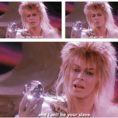 Quit waving your ball at me, David Bowie