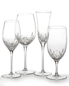 Waterford Crystal Lismore Essence Stemware - Horchow